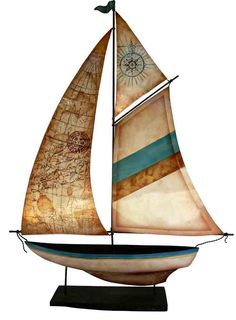 Capiz Shell Sailboat $104.90 (AUD) | FREE Delivery at Red Wrappings