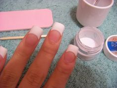 how to apply acrylic nails | ... the nails of course you have tried your best to make the acrylic nail