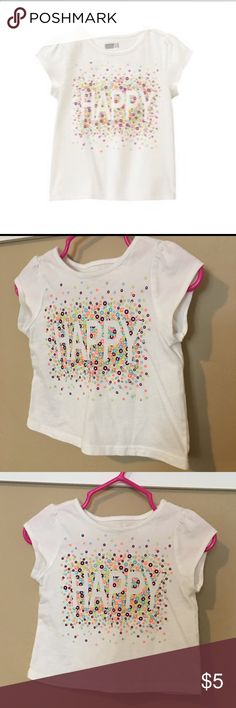 Crazy8 girls happy top💖 Like new! Worn once! Excellent condition! 😊👶✨ crazy8 Shirts & Tops