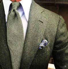 Beautiful Green. ..Men's Suit