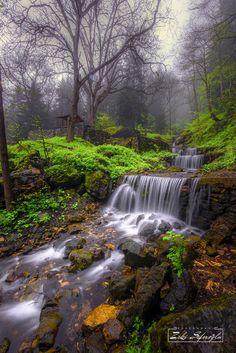 Waterfall by Zeki Seferoglu on 500px