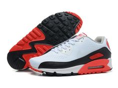 buy popular 79da0 2e317 Soldes Une Excellente Traction Nike Air Max 90 Essential Homme Blanche  Infrared Noir Baskets Pas Cher from Reliable Big Discount ! OFF!