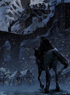The Citadel is a very different place in the winter. The cold winter winds that drifted snow from the dark mountain sky did not affect him. He kept on, his horse submissive and snorting the flakes from his nostrils...