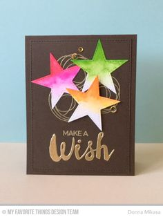 Count the Stars, Stars & Wishes Die-namics, Stitched Star STAX Die-namics, Whimsical Wishes - Donna Mikasa  #mftstamps