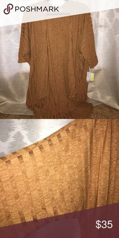 Tan Thick Lindsay NWT Perfect for Fall!! Size S! LuLaRoe Sweaters Cardigans