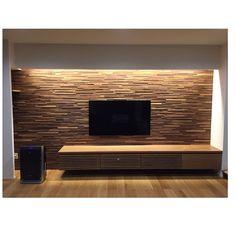 Lounge/間接照明/SONY TV/マスターウォール/オーク/ウッドパネル...などのインテリア実例 - 2017-01-18 00:40:41 | RoomClip (ルームクリップ)