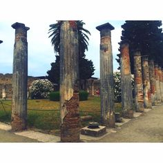Delve into history by spending a day in Pompeii.