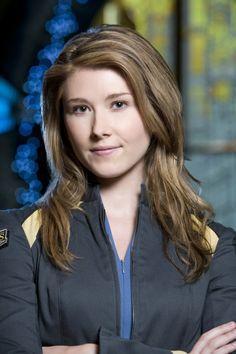 Jewel Staite as Dr. Jennifer Keller on Stargate Atlantis TV Series