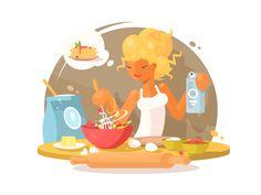 Cooking by Anton Fritsler (kit8) #Design Popular #Dribbble #shots