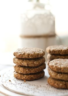 quinoa, oats and spelt cookies.