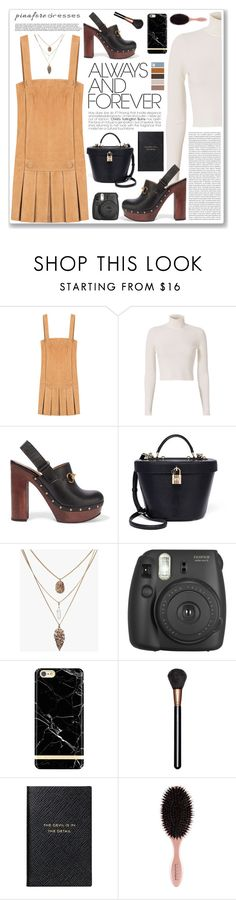 """""""top picks 17/08/16"""" by yumadh ❤ liked on Polyvore featuring Jitrois, A.L.C., Gucci, Oris, Dolce&Gabbana, Fujifilm, Richmond & Finch, MAC Cosmetics, Smythson and pinafores"""