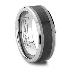 Tungsten Rings & Tungsten Wedding OFF) Men's Tungsten Carbide Black Tungsten Rings, Tungsten Carbide Rings, Tungsten Wedding Bands, Wedding Rings, Ceramic Brush, Wedding Accessories, Rings For Men, Ceramics, Engagement