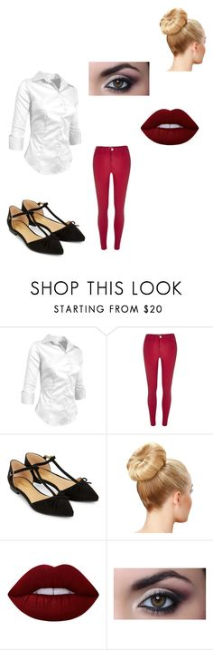 """Meeting HIkaru Again"" by maryvarleyrox ❤ liked on Polyvore featuring River Island, Accessorize and Lime Crime"