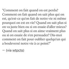Text Quotes, Sad Quotes, Love Quotes, Inspirational Quotes, Love Facts, Quotes White, French Quotes, Single Words, Life Words