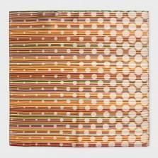 Paul Smith Pocket Squares - Signature Stripe Polka Dot Silk Pocket Square