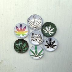 Set of 420 Friendly Magnets, Marijuana Magnets, Mary Jane Magnets, Refrigerator Magnets, Kitchen Decor, Stocking Stuffers by YouniqueGiftShop on Etsy