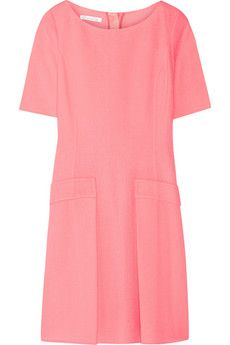 Oscar de la Renta Wool-crepe dress | NET-A-PORTER