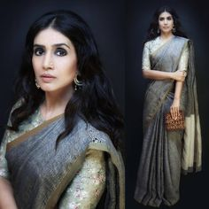 Sonali in a Anavila Saree