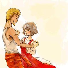 Nana et Iemitsu ♥