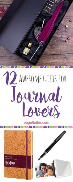 Ultimate gifts for bullet journaling, travel journals, or art journaling.