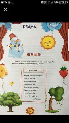 This Pin was discovered by Sev Drama Activities, Preschool Activities, Turkish Lessons, Learn Turkish, Photo Album Scrapbooking, Child Development, Kindergarten, Education, Rage