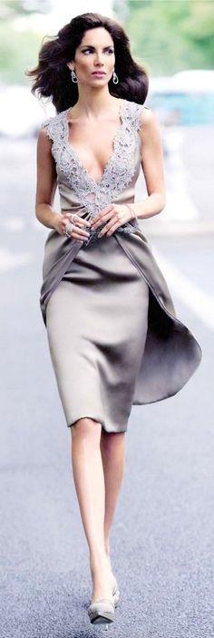 Mother of the Bride: ru_glamour: Eugenia Silva for Armani Dresses 2013, Short Dresses, Maxi Dresses, Party Dresses, Bridesmaid Dresses, Look Fashion, Fashion Beauty, Classy Fashion, Dress Fashion