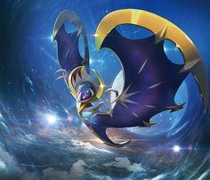 Lunaala Pokemon Sun and Moon Pokemon Fan Art, Decidueye Pokemon, Ghost Pokemon, Pokemon Memes, Pokemon Cards, Pikachu Art, Pokemon Moon, Digimon, Pokemon Special