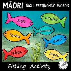 A great hands-on activity to reinforce the reading of 350 Māori high frequency words. Make a fishing pole using a stick, string and magnet. Attach a paper clip (or split pin) to the fish and voilá! It's time to go fishing. These fish could also be used as a classroom 'word wall' display or School Resources, Classroom Resources, Teaching Resources, Classroom Word Wall, Classroom Setup, Spelling Words, Sight Words, Reading Activities, Hands On Activities