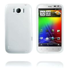 Candy Colors (Hvid) HTC Sensation XL Cover
