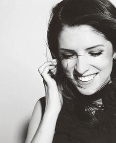 Anna Kendrick. I love her smile!