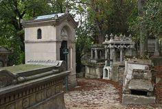 Der Friedhof Père Lachaise in Paris