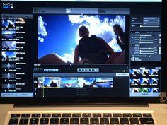 GoPro footage