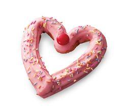 Churro Heart Doughnut from Mister Donut