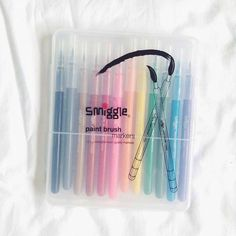 Smiggle Paintbrush Markers