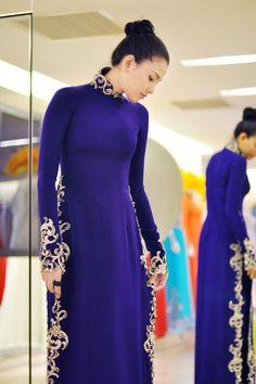 Gorgeous áo dài!! More
