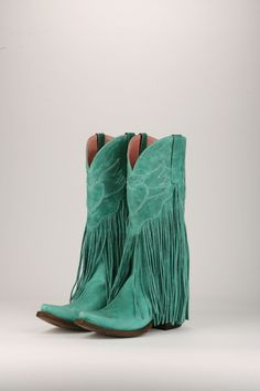 Dreamer Cowboy Boot in Turquoise (by Junk Gypsy Co.)
