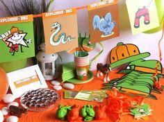CAJA TEMÁTICA EXPLORADORES - Todo lo que necesitas para la decoración de tu fiesta infantil o cumpleaños temático: guirnaldas, globos, caretas, medallas, vasos personalizados, pajitas, manteles, … y mucho más. ¡¡Celebra tu cumpleaños infantil personalizado más original y divertido!! $40.80
