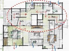 House Plans, Floor Plans, How To Plan, Houses, Homes, House Floor Plans, House, Computer Case, Floor Plan Drawing