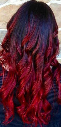 Attraktive Ombre Haarfarbe Ideen