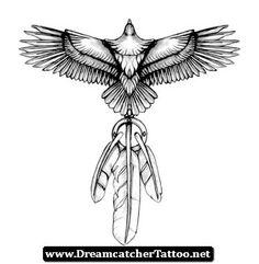 Free Dreamcatcher Tattoo Designs 08 - http://dreamcatchertattoo.net/free-dreamcatcher-tattoo-designs-08/