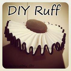 Tuto Colerette (type Pierrot) DIY ruff tutorial