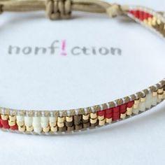 Loom Bracelet Patterns, Bead Loom Bracelets, Woven Bracelets, Loom Beading, Bohemian Jewelry, Bead Weaving, Glass Beads, Creations, Jewelry Making