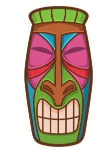 Bricolage totem Koh Lanta : des idées simples et originales Hawaiian Tiki, Hawaiian Birthday, Tiki Party, Luau Party, Moana Gif, Moana Video, Totem Koh Lanta, Survivor Theme, Moana Themed Party