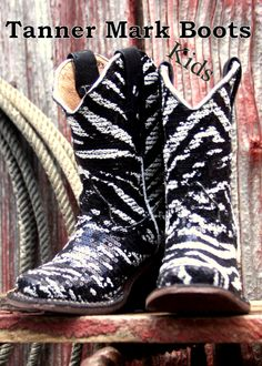 Tanner Mark Boots, Texas, Kids Cowboy Boots