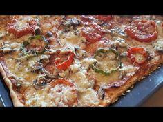 Πίτσα που θα φτιάχνετε ξανά και ξανά!! - YouTube Pizza Recipes, Vegetable Pizza, Food And Drink, Make It Yourself, Cooking, Youtube, Pizza, Baking Center, Koken