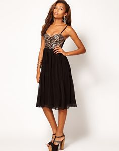 Sparkly midi dress