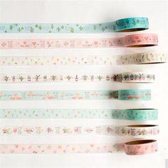 2 unidades/pacote Cacto Fresco & Flamingo Masking Tape Washi Tape Scrapbooking DIY etiqueta da Etiqueta Da Escola material de Escritório Papelaria