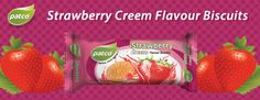 Our strawberry cream biscuits have delicious taste and are rich in nutrition. These biscuits are a perfect evening snack. So Enjoy Your Day with Patco #strawberry #creambiscuits.