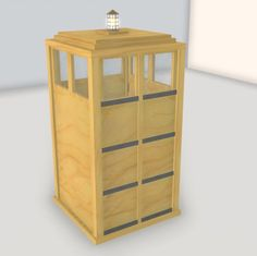 How to Build a TARDIS Replica