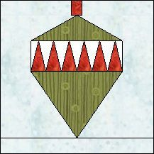 Block of Day for December 19, 2015 - Ornament